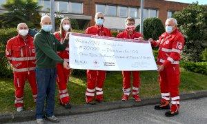 Alla Croce Rossa di Busca-Manta 20 mila euro dal Gruppo Burgo