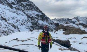 Valle Gesso, il Soccorso Alpino recupera due alpinisti precipitati sul Colle della Forchetta
