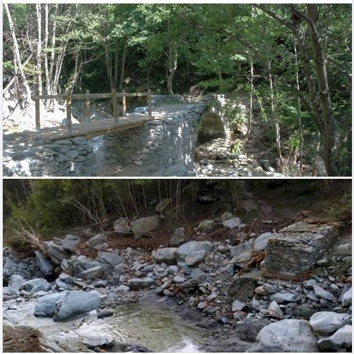 Una raccolta fondi per il ripristino della Balconata di Ormea dopo l'alluvione di inizio ottobre