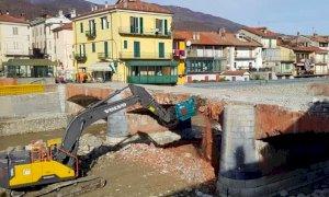 Garessio, i lavori di abbattimento del ponte Odasso si concluderanno entro due settimane