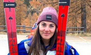 Sci alpino, ancora un podio per Carlotta Saracco a Solda