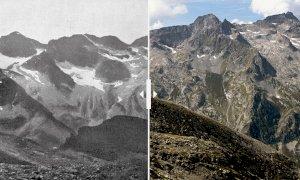 Negli ultimi due secoli la superficie dei ghiacciai delle Alpi Marittime ridotta del 90 per cento