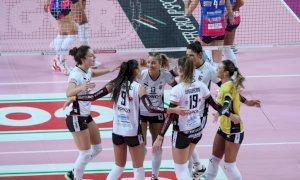 Pallavolo A1/F: la Bosca lotta ma cade nel derby contro Novara