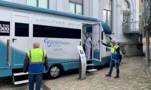 Entra in funzione l'ambulatorio mobile donato dalla Fondazione Nuovo Ospedale Alba Bra all'Asl CN2
