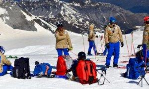 Sci alpino, Saracco batte Haller sul filo di lana nello slalom femminile FIS di Solda