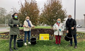 Alba: oltre tremila bulbi donati da Messer Tulipano di Pralormo al Comune per le aiuole cittadine