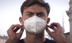 ''Indossate la mascherina'': Paulo Dybala diventa testimonial ''anti Covid'' per la Regione Piemonte