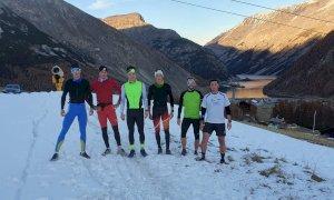 Sci nordico e biathlon, lo Sci Club Entracque Alpi Marittime in allenamento a Livigno