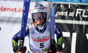 Ottima prima manche per Marta Bassino, nona a metà gara nello Slalom di Levi