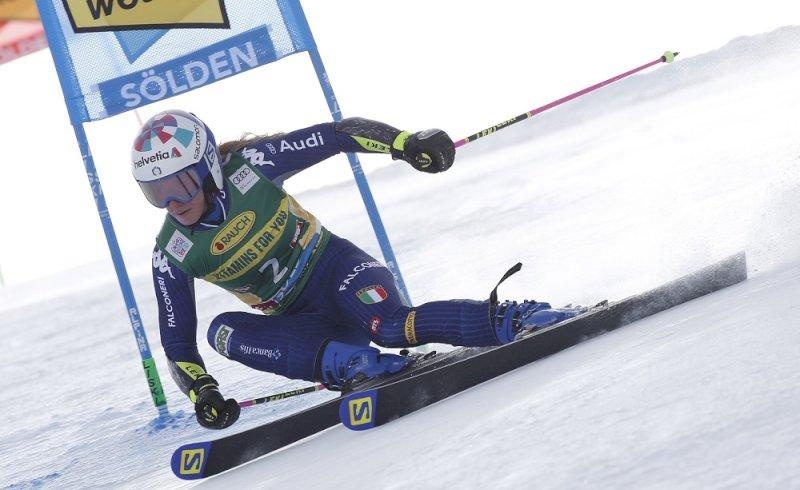 Sci alpino, Marta Bassino per la prima volta a punti in Slalom in Coppa del Mondo