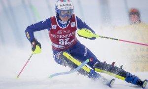 Sci alpino, Marta Bassino fuori nella seconda manche dello Slalom di Levi