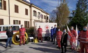 Dalla Manitowoc Company di Niella Tanaro una motopompa per la Croce Rossa di Mondovì