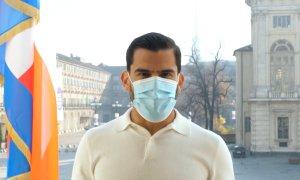 Anche il granata Tomas Rincon testimonial della Regione Piemonte per l'uso della mascherina