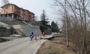 Frana lungo la provinciale a Benevello, c'è il progetto definitivo per la sistemazione