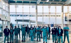 È entrata in servizio all'ospedale di Verduno la delegazione medica arrivata da Israele