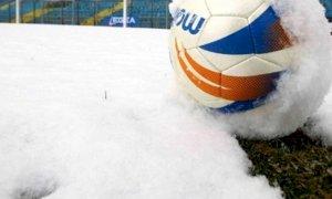 Calcio, Serie D: rinviate per neve le partite di Bra e Fossano