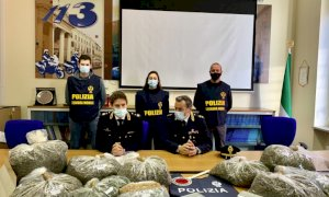 Maxi sequestro della Mobile di Cuneo in una cascina del Monferrato, trovati oltre 47 chili di marijuana