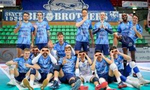 Pallavolo A2/M: contro Brescia per Cuneo arriva la quarta vittoria consecutiva