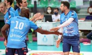 Pallavolo A2/M: mercoledì sera Cuneo in trasferta a Cantù