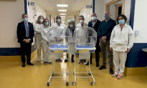 Due nuove culle riscaldanti per il trasporto intraospedaliero per la Pediatria di Verduno