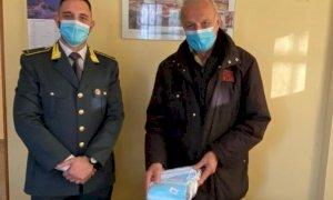 Donazione da parte della Guardia di Finanza al Cras di Bernezzo e alla Caritas di Fossano