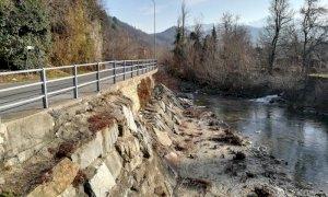 Lavori di difesa idraulica lungo il torrente Pesio a Chiusa Pesio
