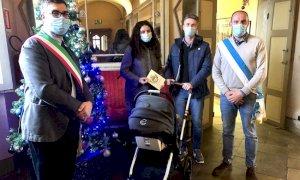 Il Bonus Bebè come regalo di Natale all'unico nato a Castellar nel 2020