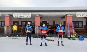 Sci alpino, nel secondo slalom FIS-NJR di Artesina vincono Melissa Astegiano e Corrado Barbera