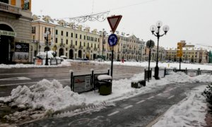Cuneo, stasera lo sgombero neve nelle piazze dei mercati