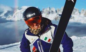 Sci alpino, oggi l'esordio della limonese Carlotta Saracco in Coppa del Mondo