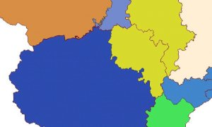 La nuova mappa dei collegi elettorali taglia in due la provincia Granda