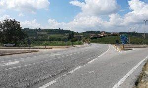 Rotatoria sulla provinciale 929 Borbore-Alba in località Mombelli, c'è il progetto definitivo
