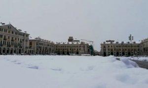 Un'altra giornata di neve, l'Arpa conferma l'allerta gialla per la Granda