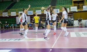 Pallavolo A1/F: a Brescia la terza vittoria consecutiva per Cuneo