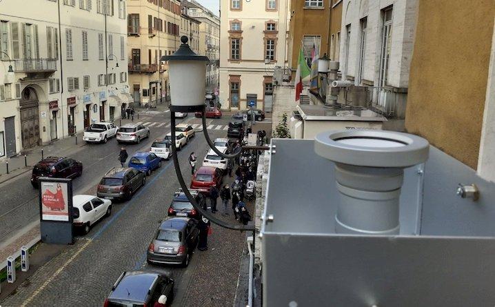 Campionamento in via della Consolata a Torino