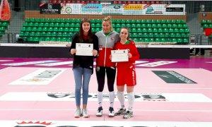 Granda Volley Academy, diploma di merito per Alice Gay e Camilla Basso