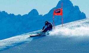 Sci alpino, i Mondiali di Cortina d'Ampezzo si disputeranno a porte chiuse