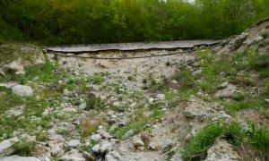 Sistemazione del versante in frana al bivio Ponte di Nava-Briga