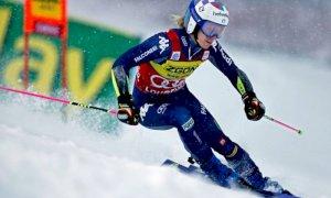 Marta Bassino alla vigilia del doppio gigante in Slovenia: ''Pista impegnativa, ma sono pronta''