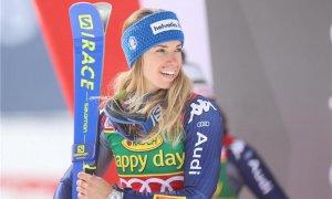 Marta Bassino dopo la vittoria a Kranjska Gora: ''Sono felice, temevo questo tracciato''