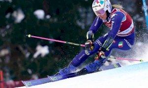 Sci alpino, Marta Bassino seconda nella prima manche a Kranjska Gora