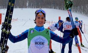 Sci di fondo, Elisa Gallo e Davide Ghio vincono il titolo italiano Aspiranti