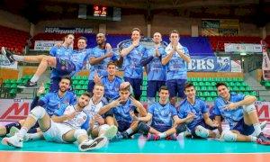 Volley A2/M: vittoria netta di Cuneo con Castellana Grotte