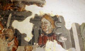 Affreschi nella cappella di San Giacomo a Busca, a febbraio al via i lavori di recupero