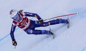 Sci alpino, Marta Bassino solo trentacinquesima nella discesa di Crans Montana