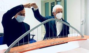 Garessio avrà un nuovo ponte sul Tanaro pensato dal suo ''figlio illustre'' Giorgetto Giugiaro
