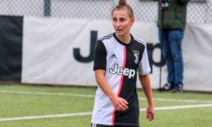 Calcio, debutto in Serie A con la Juventus per Michela Giordano