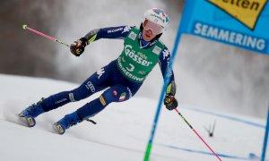Sci alpino, un altro podio per Marta Bassino: è terza nel Gigante di Kronplatz