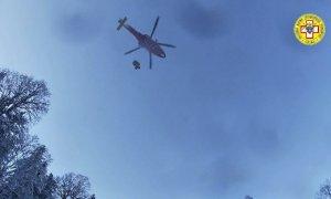 Non è giornata per fare escursioni sul monte Berlino: soccorso un secondo scialpinista