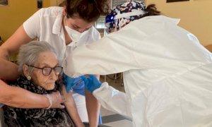 Vaccinati gli ospiti della Fondazione Residenza La Meridiana di Chiusa Pesio